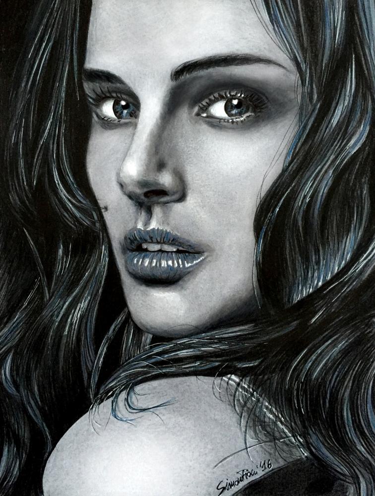 Natalie Portman by simoflame